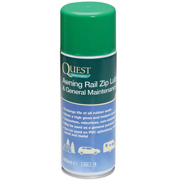 Quest Awning Rail & Zip Lubricant | Greentrees Caravanstore